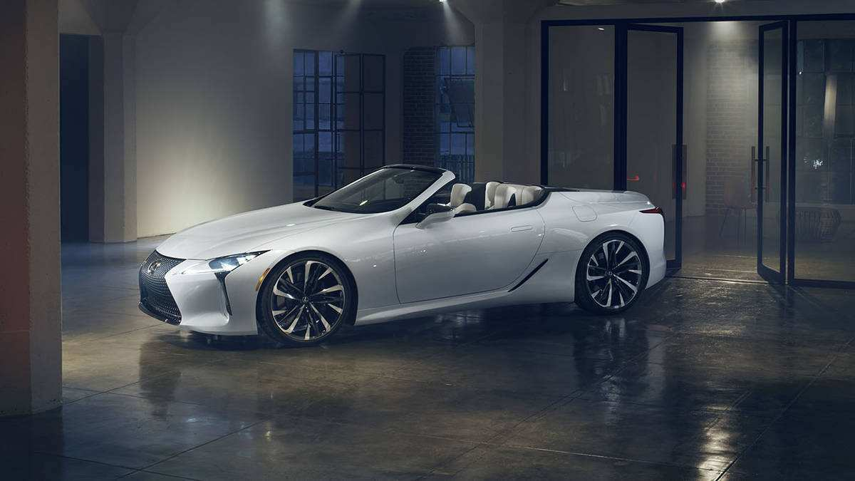 91 Concept of 2019 Lexus Convertible Spesification by 2019 Lexus Convertible