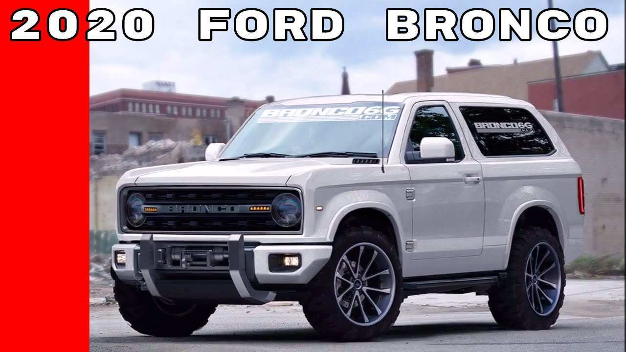 91 Concept of 2020 Ford Bronco Detroit Auto Show Picture by 2020 Ford Bronco Detroit Auto Show