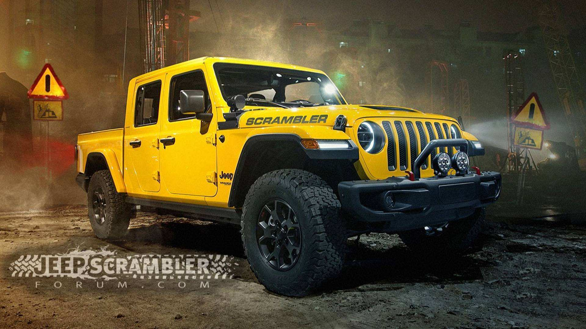 91 Concept of 2020 Jeep Pickup Truck Overview by 2020 Jeep Pickup Truck
