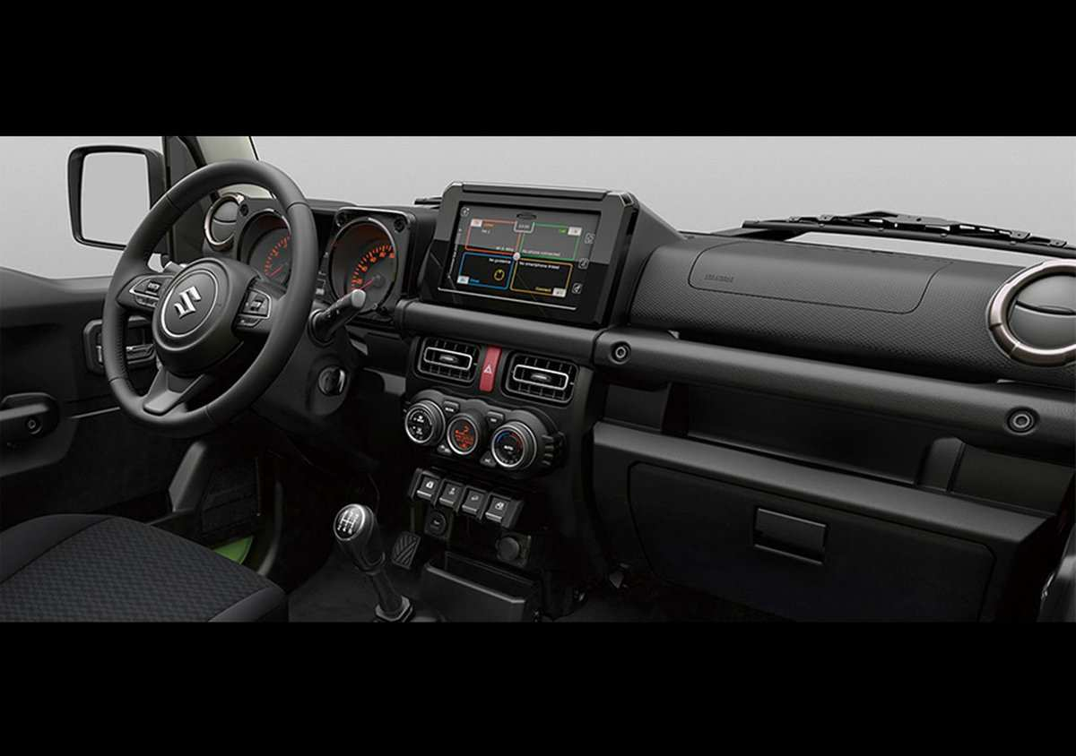 91 Concept of Suzuki Jimny 2019 Interior New Review with Suzuki Jimny 2019 Interior