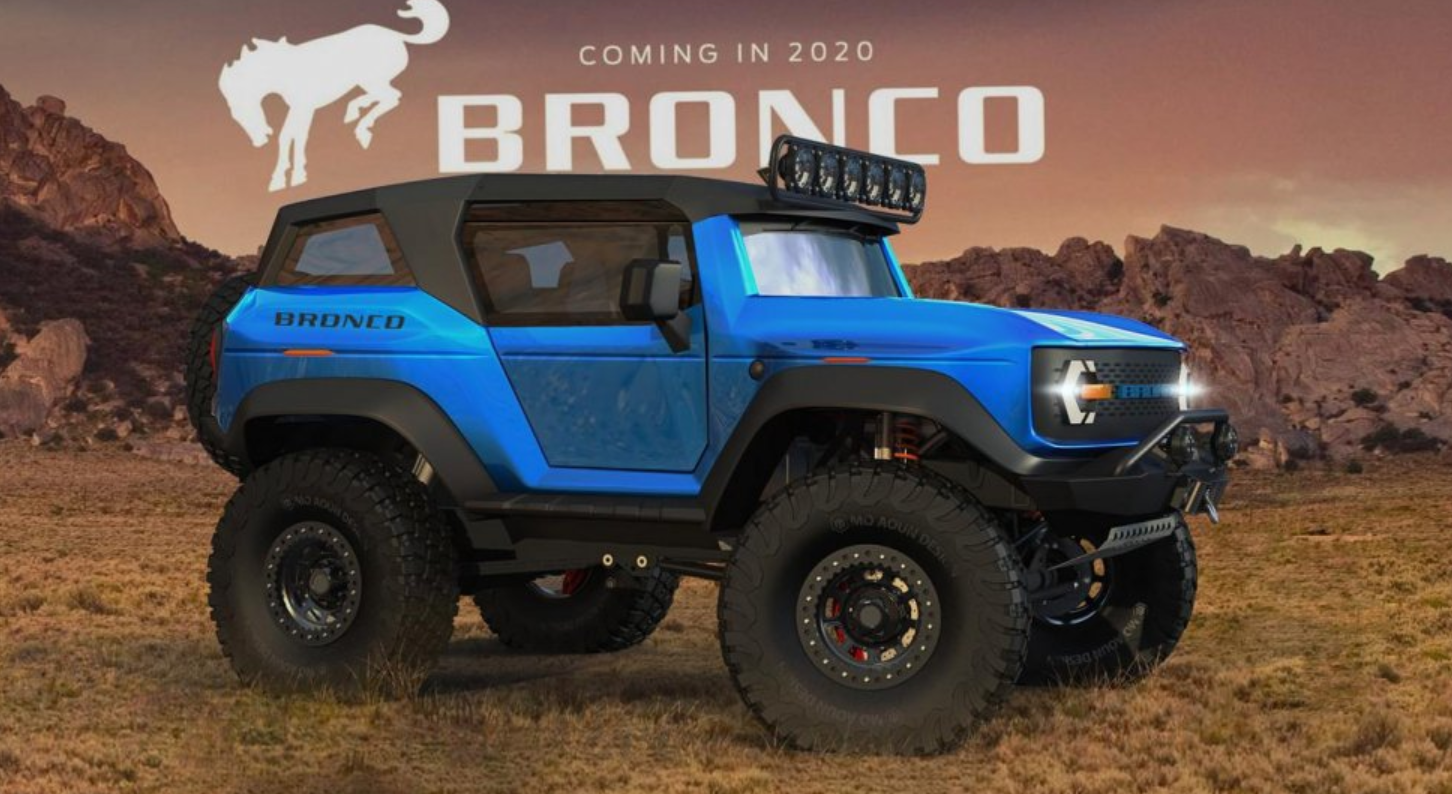 91 Gallery of 2020 Ford Bronco Raptor Redesign and Concept for 2020 Ford Bronco Raptor