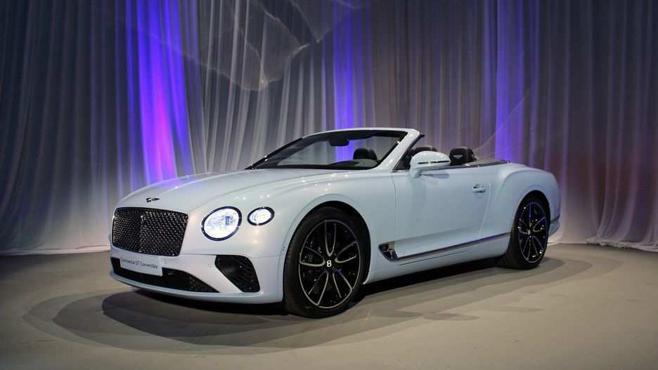 91 New 2019 Bentley Continental Gtc Rumors for 2019 Bentley Continental Gtc