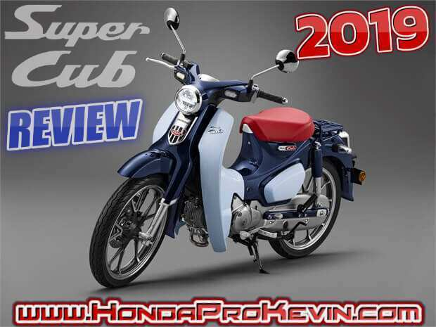 92 All New 2019 Honda Super Cub Performance for 2019 Honda Super Cub