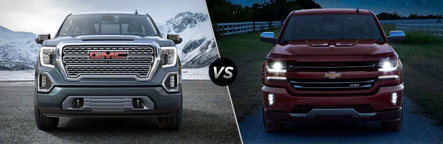 92 Best Review 2019 Gmc Vs Silverado Performance by 2019 Gmc Vs Silverado