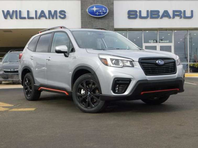 92 Concept of 2019 Subaru Forester Sport Photos for 2019 Subaru Forester Sport