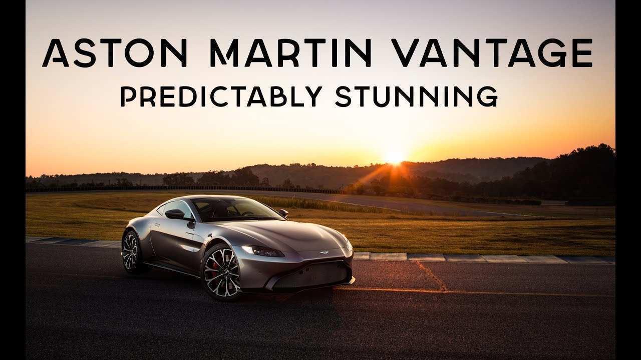 92 Great 2019 Aston Martin Vantage Predictably Stunning Speed Test with 2019 Aston Martin Vantage Predictably Stunning