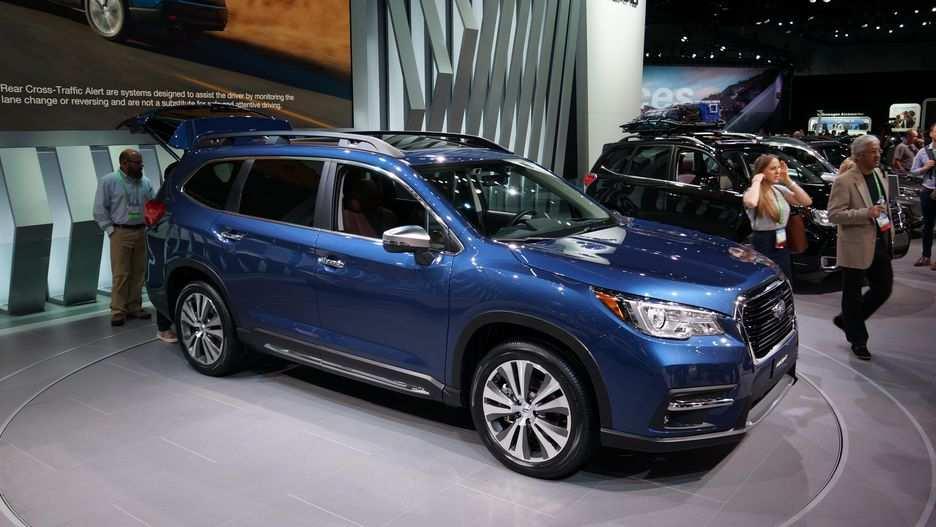 92 Great 2019 Subaru Ascent Debut Spesification by 2019 Subaru Ascent Debut