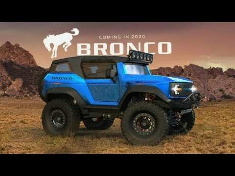 92 New 2020 Ford Bronco Detroit Auto Show Performance for 2020 Ford Bronco Detroit Auto Show