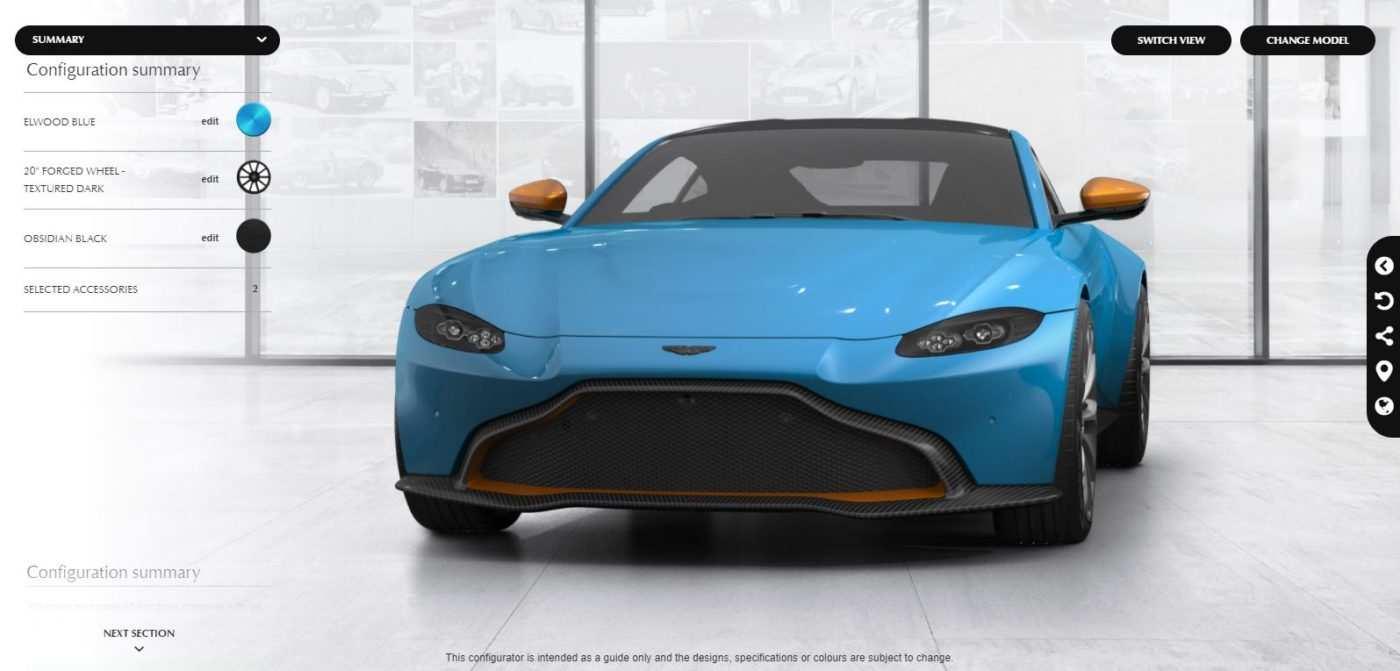92 The 2019 Aston Martin Vantage Configurator Performance by 2019 Aston Martin Vantage Configurator