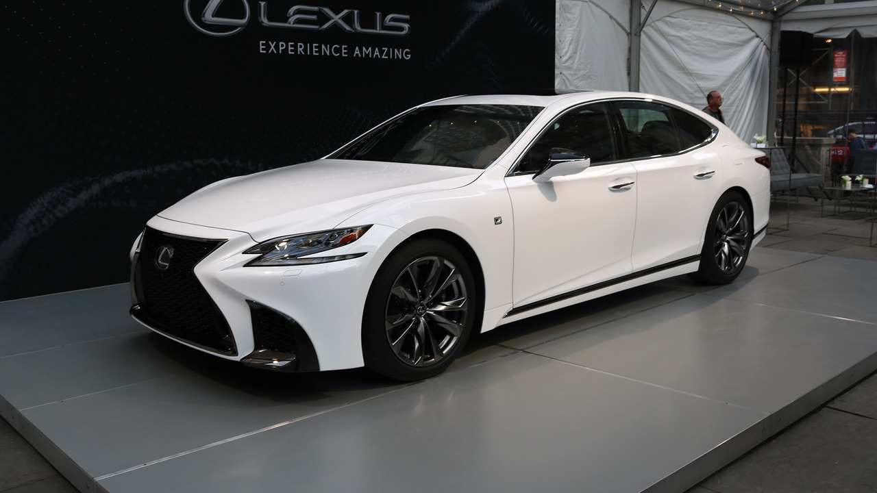 92 The 2019 Lexus Ls 500 Overview for 2019 Lexus Ls 500
