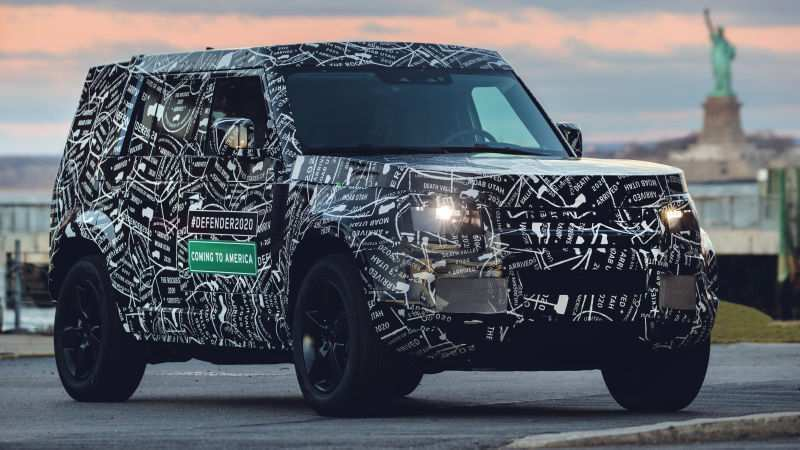93 All New 2020 Land Rover New Review by 2020 Land Rover