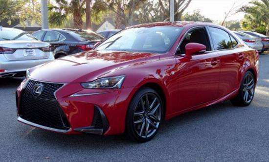 93 Great 2019 Lexus Is F Specs with 2019 Lexus Is F