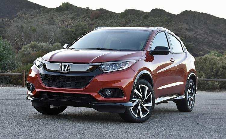 93 New 2019 Honda Hrv Redesign Picture for 2019 Honda Hrv Redesign