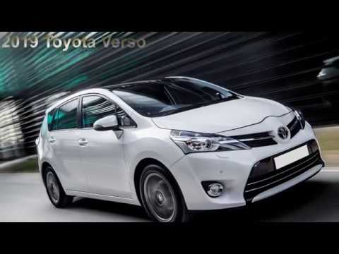 93 New 2019 Toyota Verso Style for 2019 Toyota Verso