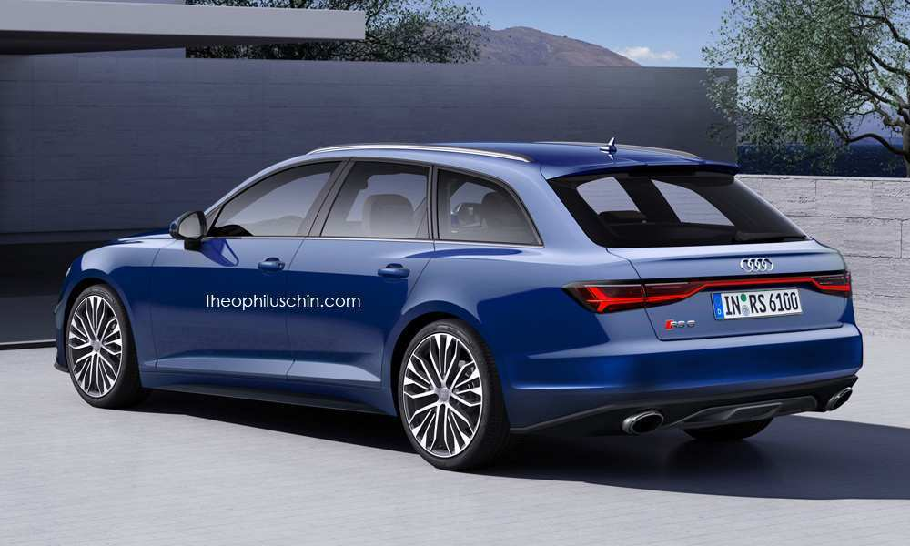 94 All New 2019 Audi Rs6 Concept for 2019 Audi Rs6