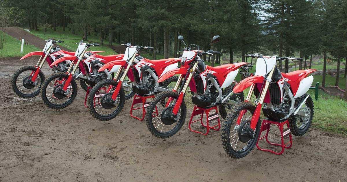 94 All New 2019 Honda Dirt Bikes New Concept by 2019 Honda Dirt Bikes