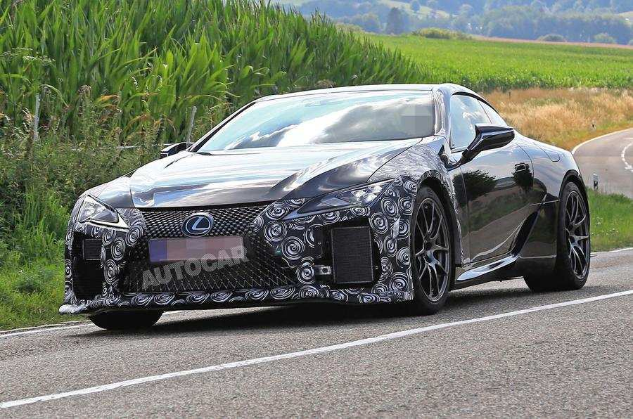 94 All New 2019 Lexus Lc F Spy Shoot by 2019 Lexus Lc F