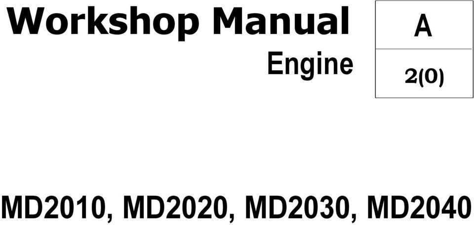94 Best Review Manual Volvo Md2020 Performance for Manual Volvo Md2020