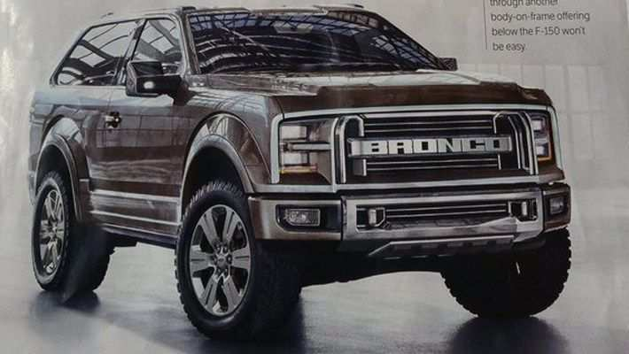 94 Concept of 2020 Ford Bronco 6G Performance and New Engine for 2020 Ford Bronco 6G
