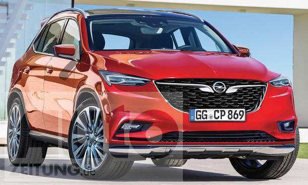 94 Great 2019 Opel Adam X Redesign and Concept by 2019 Opel Adam X