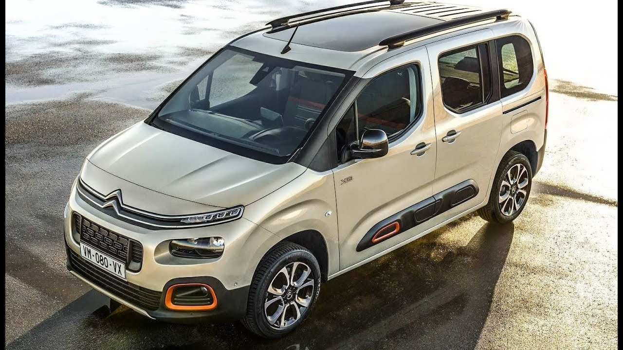 94 New 2019 Citroen Berlingo Configurations by 2019 Citroen Berlingo