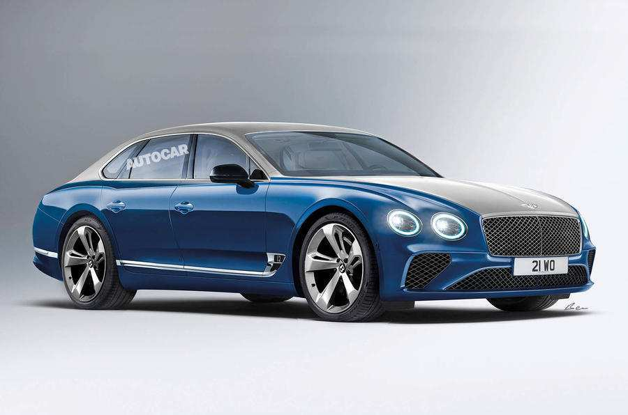 95 All New 2019 Bentley Flying Spur Speed Picture for 2019 Bentley Flying Spur Speed