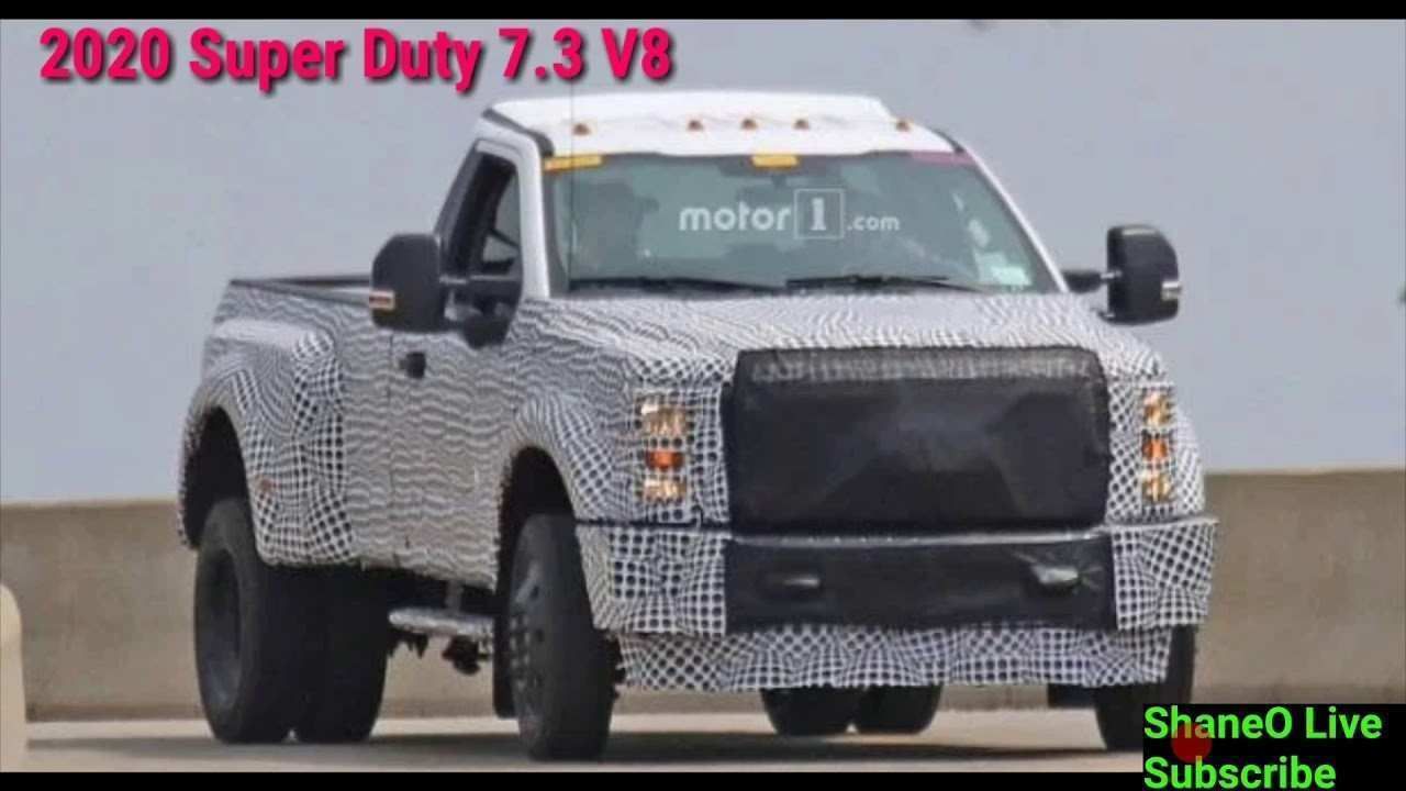 95 All New 2020 Ford 7 3 Overview for 2020 Ford 7 3