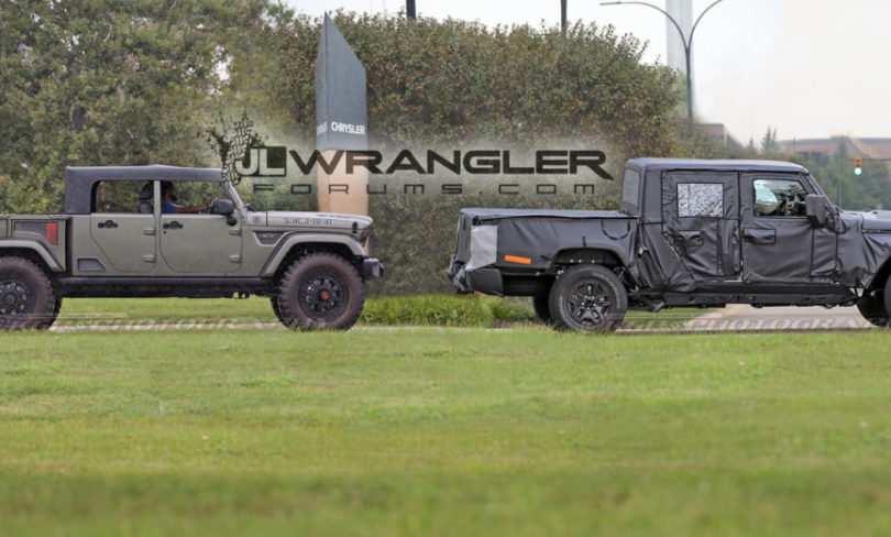 95 Gallery of 2019 Jeep Scrambler Specs Spy Shoot by 2019 Jeep Scrambler Specs
