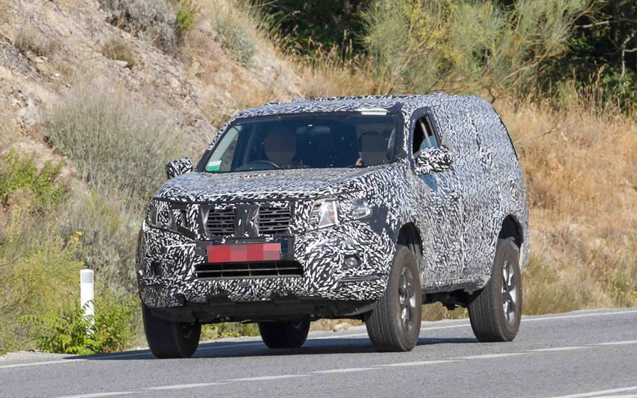 95 Gallery of 2019 Nissan Pathfinder Spy Shots Style by 2019 Nissan Pathfinder Spy Shots