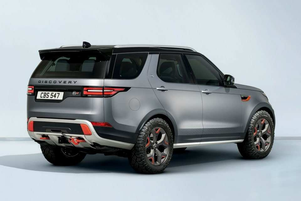 95 Great 2019 Land Rover Discovery Svx Release by 2019 Land Rover Discovery Svx