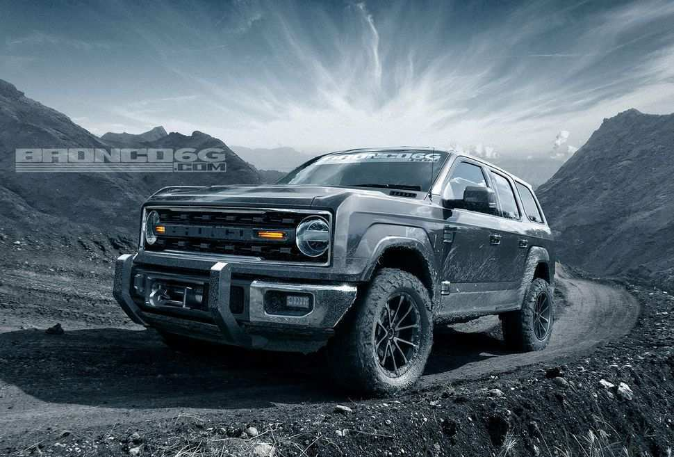 96 Best Review 2020 Ford Bronco Auto Show Rumors by 2020 Ford Bronco Auto Show