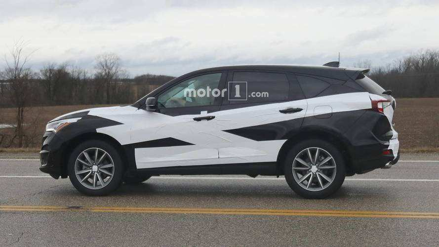 96 Gallery of 2019 Acura Rdx Spy Photos Specs by 2019 Acura Rdx Spy Photos