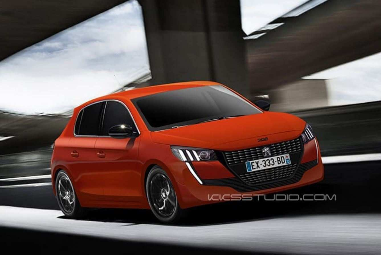 97 All New 2020 Peugeot 208 First Drive with 2020 Peugeot 208