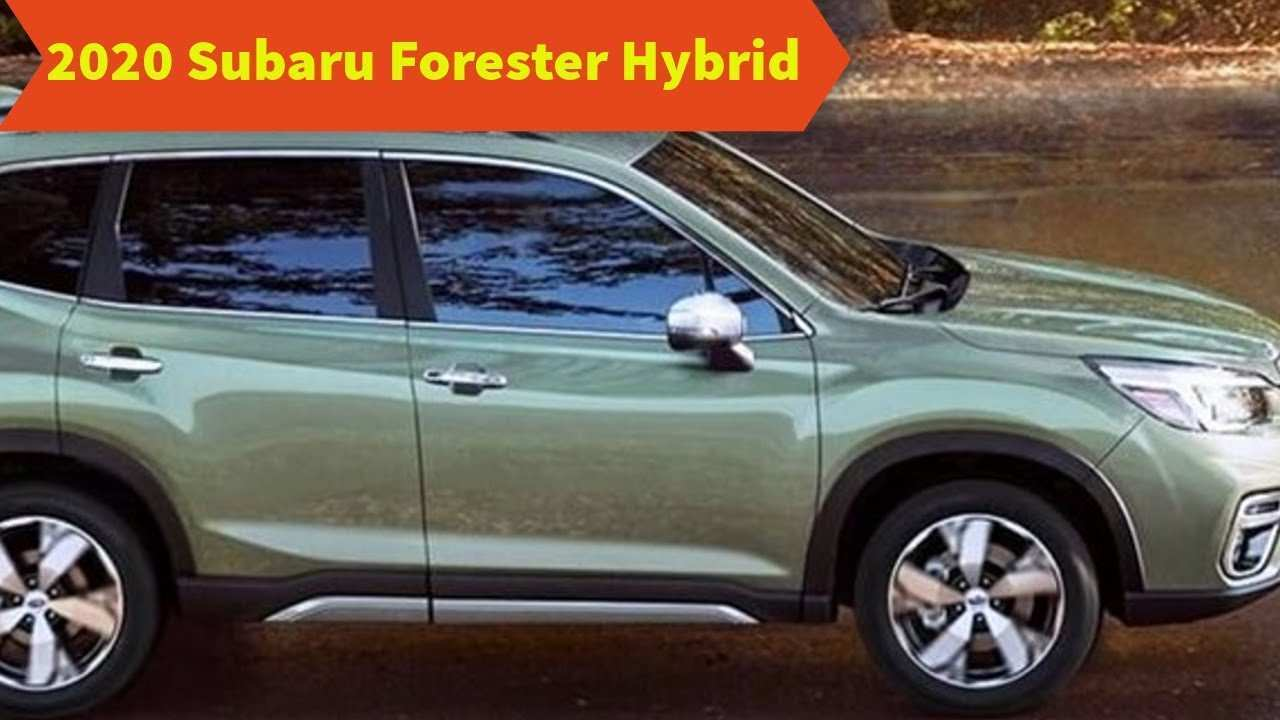 97 Concept of 2020 Subaru Forester Hybrid Style for 2020 Subaru Forester Hybrid