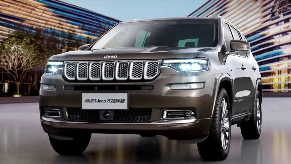 97 Concept of The 2019 Jeep Grand Wagoneer Exterior with The 2019 Jeep Grand Wagoneer