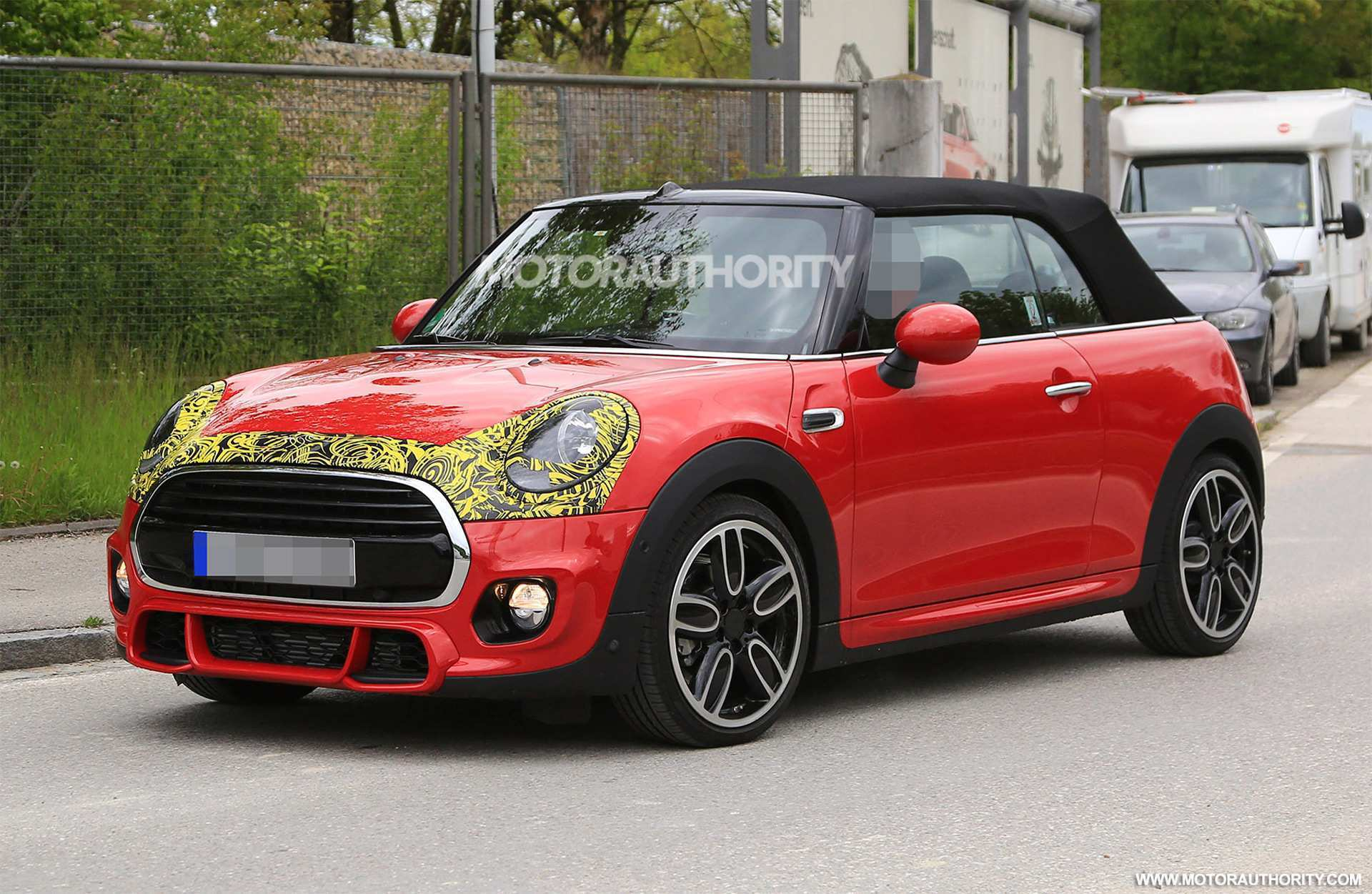 97 Great 2019 Mini Cooper Spy Shots Spesification with 2019 Mini Cooper Spy Shots