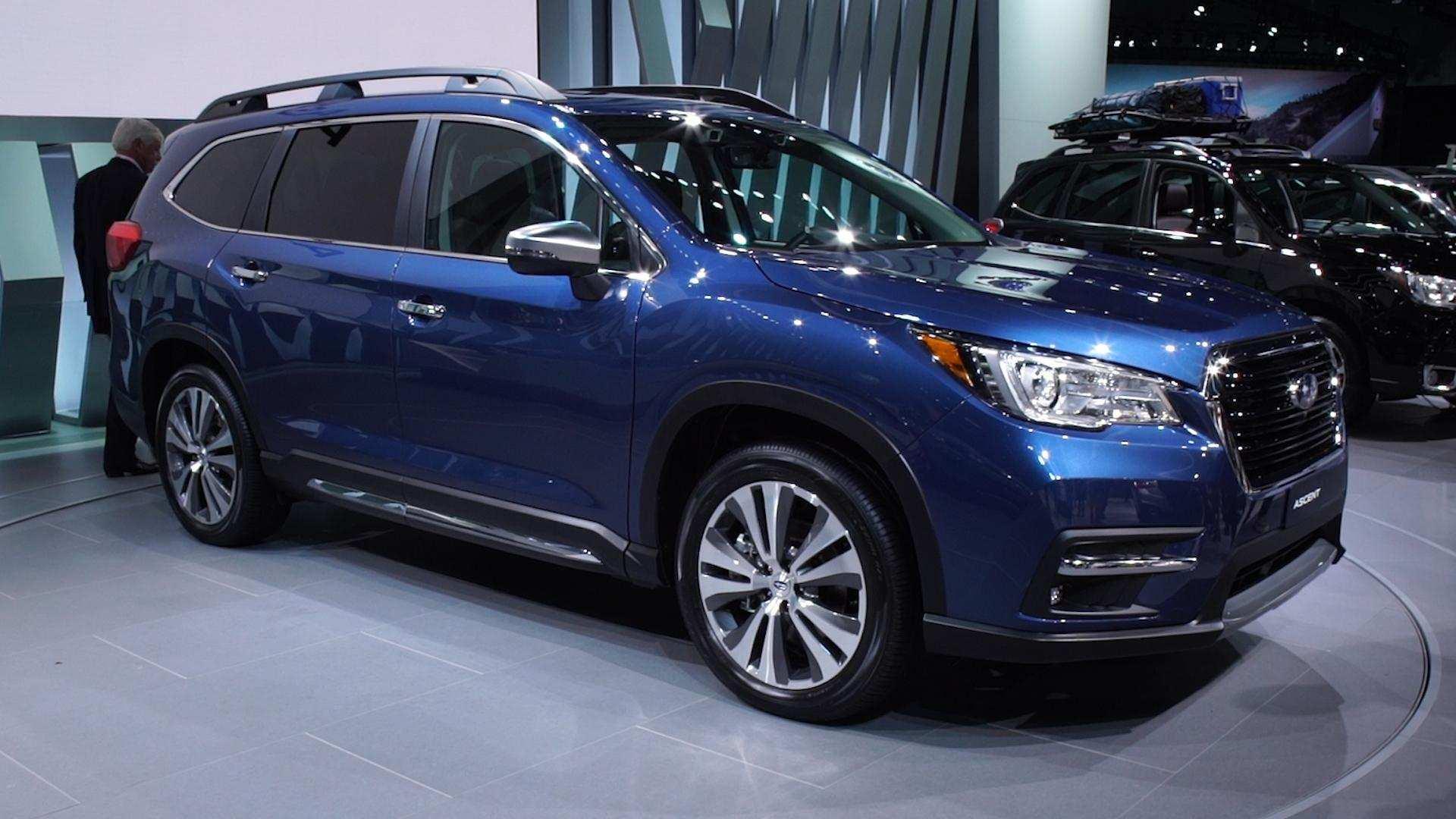97 New 2019 Subaru Ascent News Speed Test with 2019 Subaru Ascent News