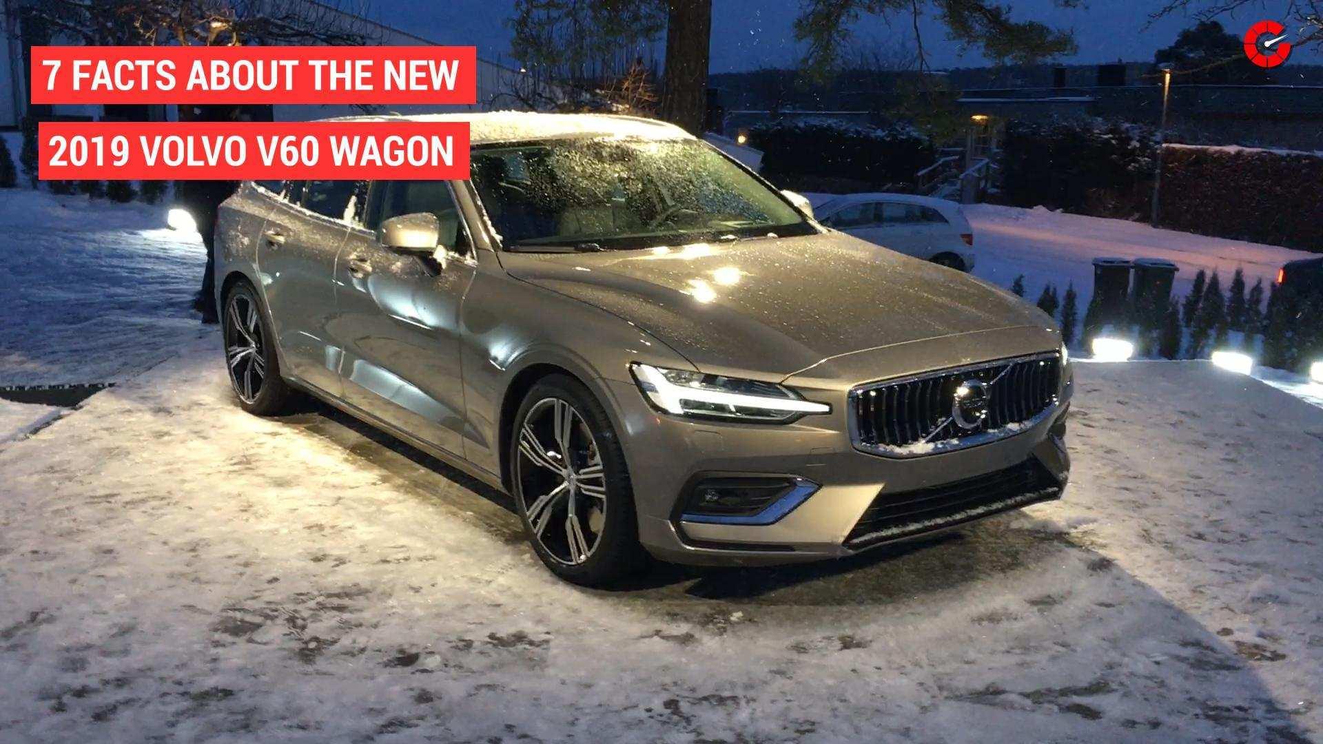 97 New New 2019 Volvo V60 Price with New 2019 Volvo V60