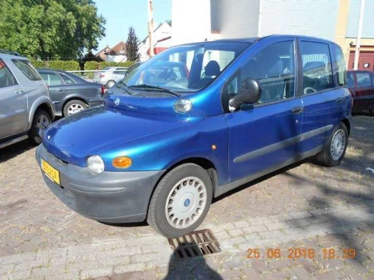 98 All New Fiat Multipla 2019 Spy Shoot with Fiat Multipla 2019