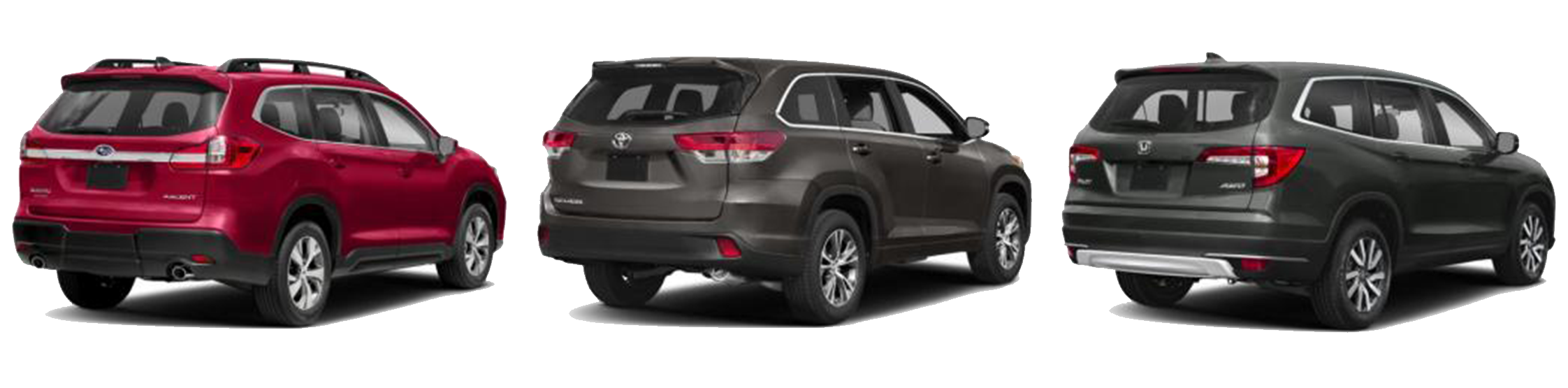 98 New 2019 Subaru Ascent Vs Honda Pilot Vs Toyota Highlander Performance and New Engine with 2019 Subaru Ascent Vs Honda Pilot Vs Toyota Highlander