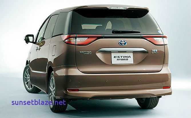 98 New 2019 Toyota Estima Specs with 2019 Toyota Estima