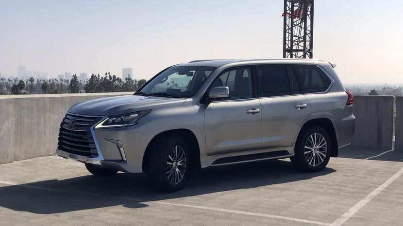99 All New 2019 Lexus Lx Exterior by 2019 Lexus Lx