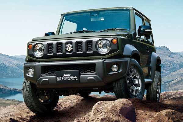 99 Best Review New 2019 Suzuki Jimny Redesign and Concept by New 2019 Suzuki Jimny