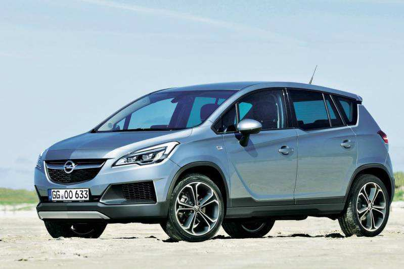 99 Concept of Opel Meriva 2020 Spy Shoot by Opel Meriva 2020