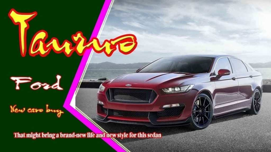 99 Great 2019 Ford Taurus Sho Specs Speed Test by 2019 Ford Taurus Sho Specs