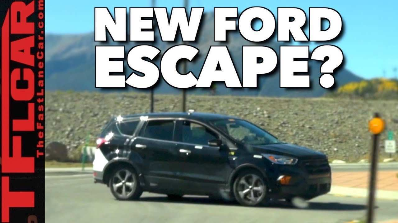 99 New 2019 Ford Escape Release Date Exterior and Interior with 2019 Ford Escape Release Date