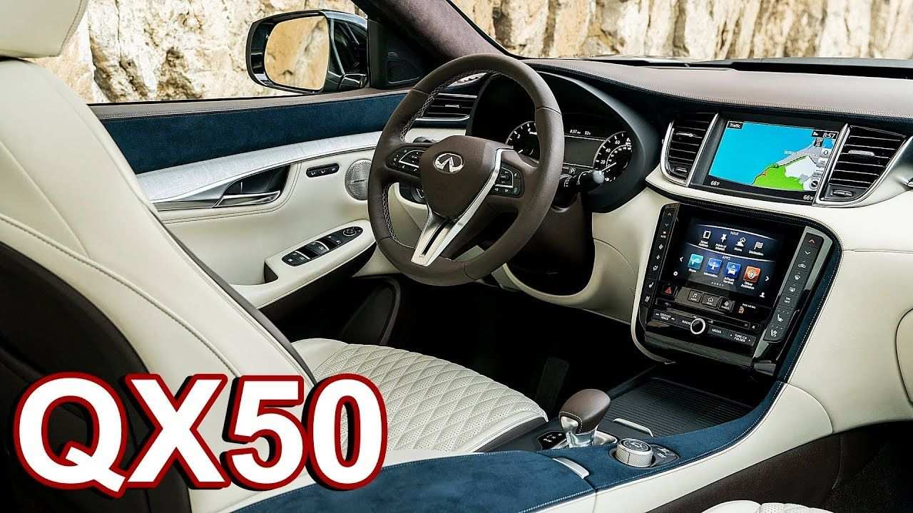 14 New 2019 Infiniti Qx50 Luxe Interior Release by 2019 Infiniti Qx50 Luxe Interior