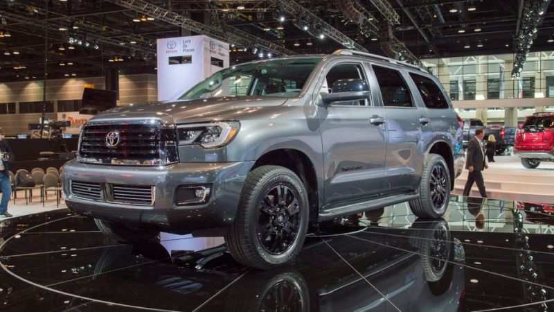 19 Concept of 2019 Toyota Sequoia Redesign Configurations with 2019 Toyota Sequoia Redesign
