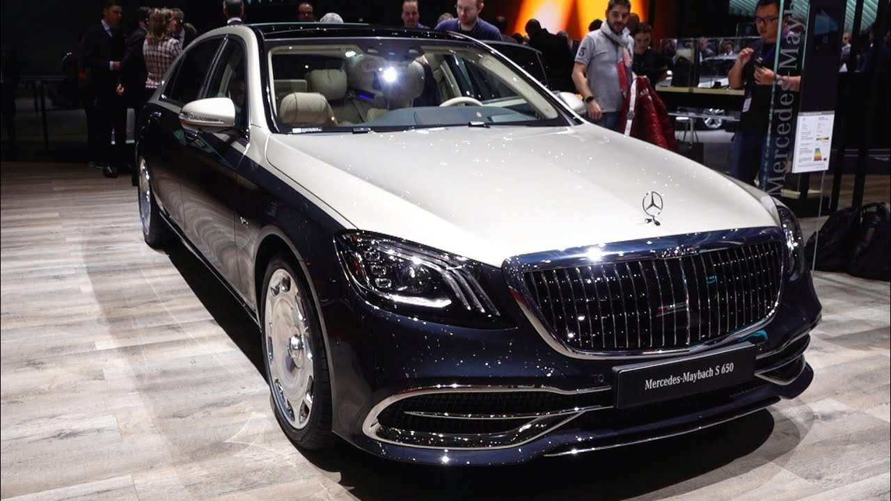 22 The 2019 Mercedes Maybach S650 Concept with 2019 Mercedes Maybach S650