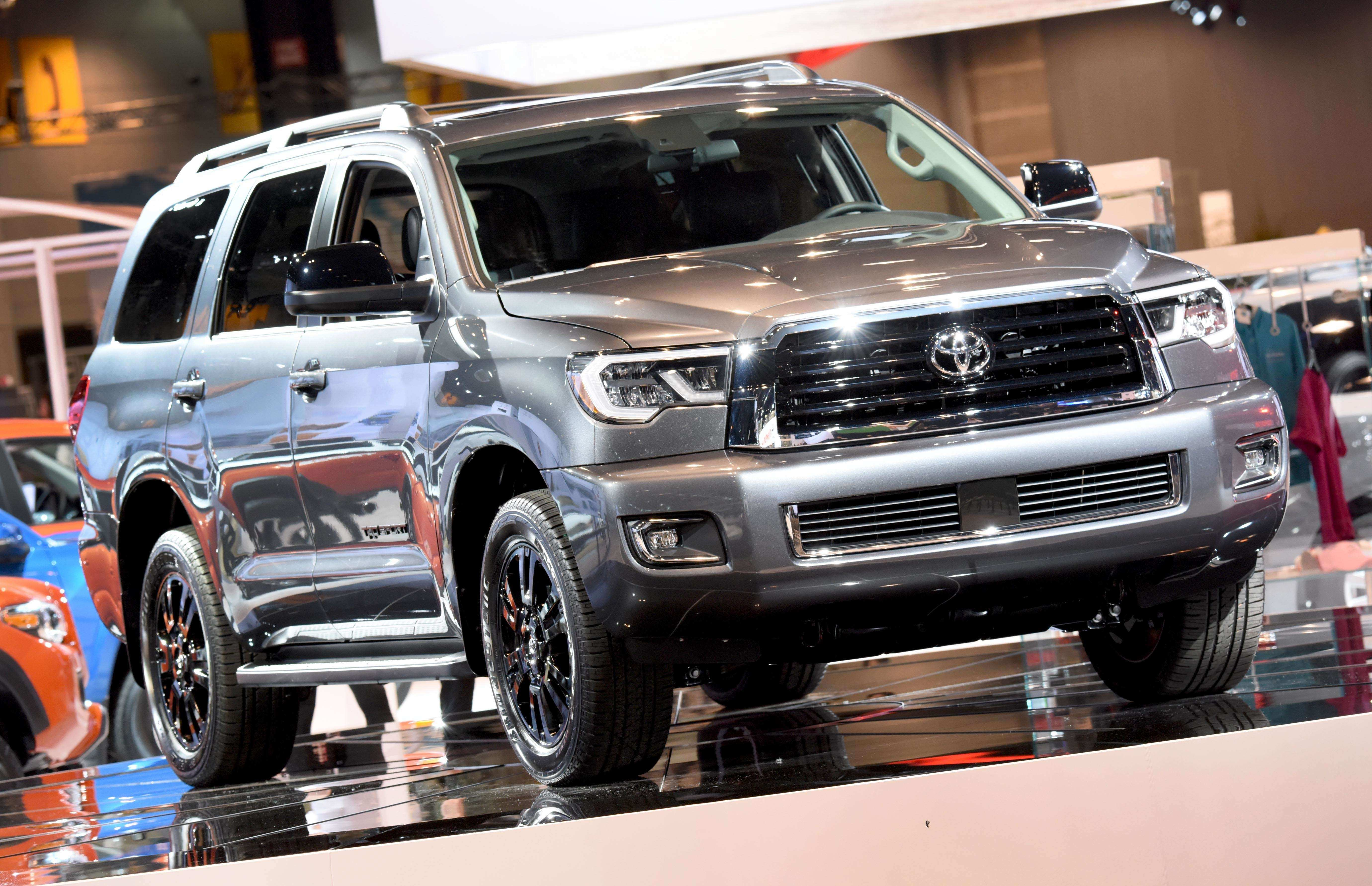 26 New 2019 Toyota Sequoia Redesign Specs and Review by 2019 Toyota Sequoia Redesign